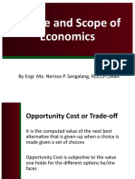 5 scrib upload Course Introduction Nature and Scope of Economics