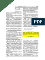 RD 021-2009-MTC 14 Deroga y Modifica RD 032-2008-MTC 14