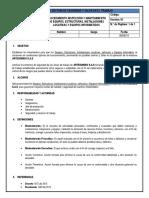 Procedimiento Inspección Y Mantenimiento De Equipos, Estructuras, Instalaciones Locativas, Vehiculos Y Equipos Informaticos