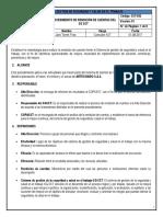 SST-032 Procedimiento de Rendición de Cuenta SST