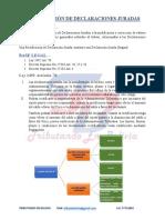 Tratamiento Rectificación DDJJ