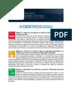Objetivos de dllo sostenible en A Latina