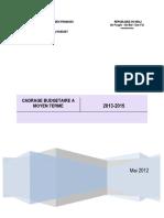 CBMT Mali 2013-2015