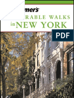 frommer's - travel guide - memorable walks in new york 2003