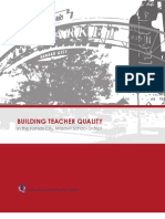 Building Teacher Quality in the Kansas City, Missouri School District - Executive Summary