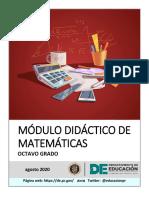 Módulo Matematicas Octavo Final
