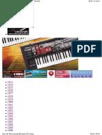Roland Synthesizer-Chronik 1973-2006