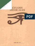 Etudes médicales