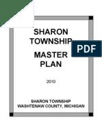Sharon Townshiop Master Plan Draft