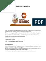 3. ANALISIS ESTRATEGICO GRUPO BIMBO