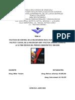 TEMA VI MILLER CONTROL DE DELINCUENCIA Y PLAN DE LA NACION