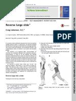 2013 C Liebenson - Reverse lunge slide