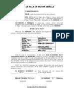 DOS- Motor Vehicle.docx