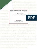 Curso de Filosofía de la Música. I Parte general. Sección primera, gnoseológica.docx