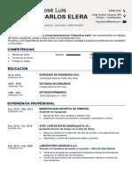 CV Jose L. Carlos E.