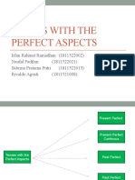 Tenses with the Perfect Aspects