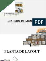 Aula - Planta de Layout
