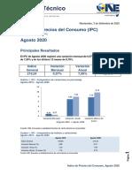 IPC Agosto 2020