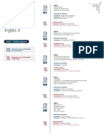 Inglés 4 Cronograma visual