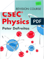 Collins Concise Revision Course CSEC Physics by Peter DeFreitas