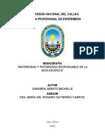 MONOGRAFÍA MATERNIDAD Y PATERNIDAD RESPONSABLE-1