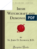 Irish Witchcraft and Demonology - 9781605069500