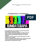 BENEFICIOS DE LA RUMBATERAPIA