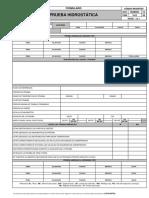 FRM-1613 V00 PRUEBA HIDROSTATICA