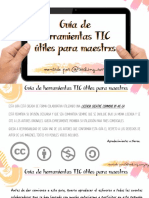Guía herramientas TIC