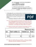 ISCAM - Quarentena Tributaria 1 - Correccao