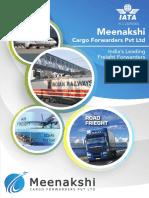 Broucher Meenakshi Cargo Forwarders Pvt Ltd