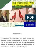 As Teorias de Lamarck e Darwin_Editado