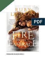 FIRE BLOOD DRAGON - Ruby Dixon Livro 3