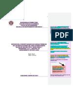 Modelo del capitulo I con la norma UFT2016