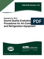 ANSI.AHRI Standard 1140-2012