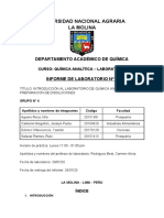 INTRODUCCION AL LABORATORIO DE QUIMICA ANALITICA