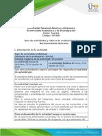 Guía de actividades y rúbrica de evaluación - Tarea 1 - Reconocimiento del curso.pdf