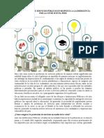 Virtualización de servicios publicos en la pandemia - parte A