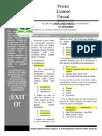 PRIMER EXAMEN PARCIAL DE MÉXICO Y EL EXPANSIONISMO EUROPEO