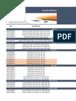Lista de Precios Nexxt Infrastructure-MINIMOS