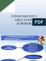CONOCIMIENTO EN LA EDUCACIÓN SUPERIOR.pptx