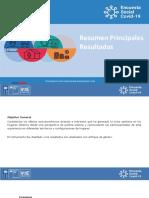 Resumen resultados Encuesta Social Covid 19