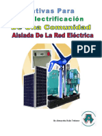 Alternativas Para La Electrificación De Una Comunidad Aislada De La Red Eléctrica