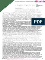 Resumen sobre Durkheim y Weber - UBA - CBC - Sociologia - Cat_ Martínez - Sameck - 2013