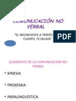 COMUNUCACIÓN NO VERBAL