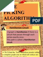 Edge-Picking Algorithm