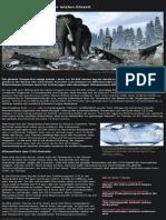 Klimawandel (Beitrag von 2020-08-27) _Forscher liefern genauen Wert ~So bitterkalt war es in der letzten Eiszeit