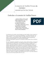 Endechas a la muerte de Guillén Peraza