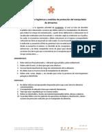 Actividad de Aprendizaje Modulo 2.  Hábitos higienicos y medidas de protección