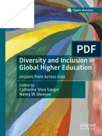 Diversity, Inclusion, and Context in Asian Higher Education